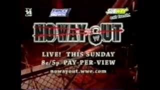 No Way Out 2005 commercial