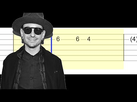 Linkin Park - One More Light (Easy Guitar Tabs Tutorial)
