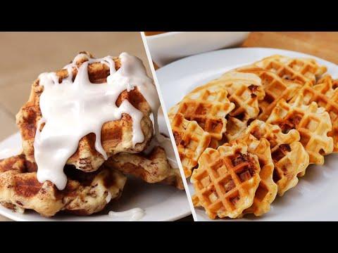 crispy-and-fresh-waffles-•-tasty-recipes