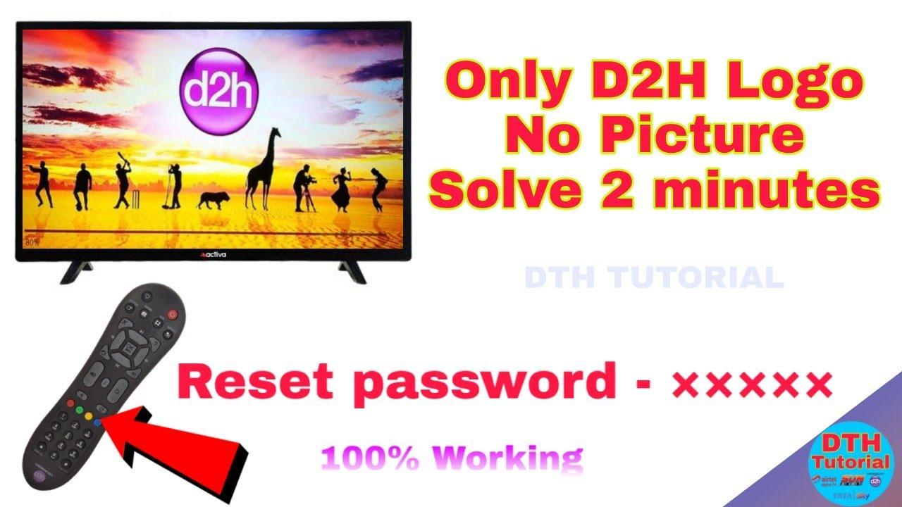 Videocon D2H Logo Loading problem solve in tamil   DTH Tutorial