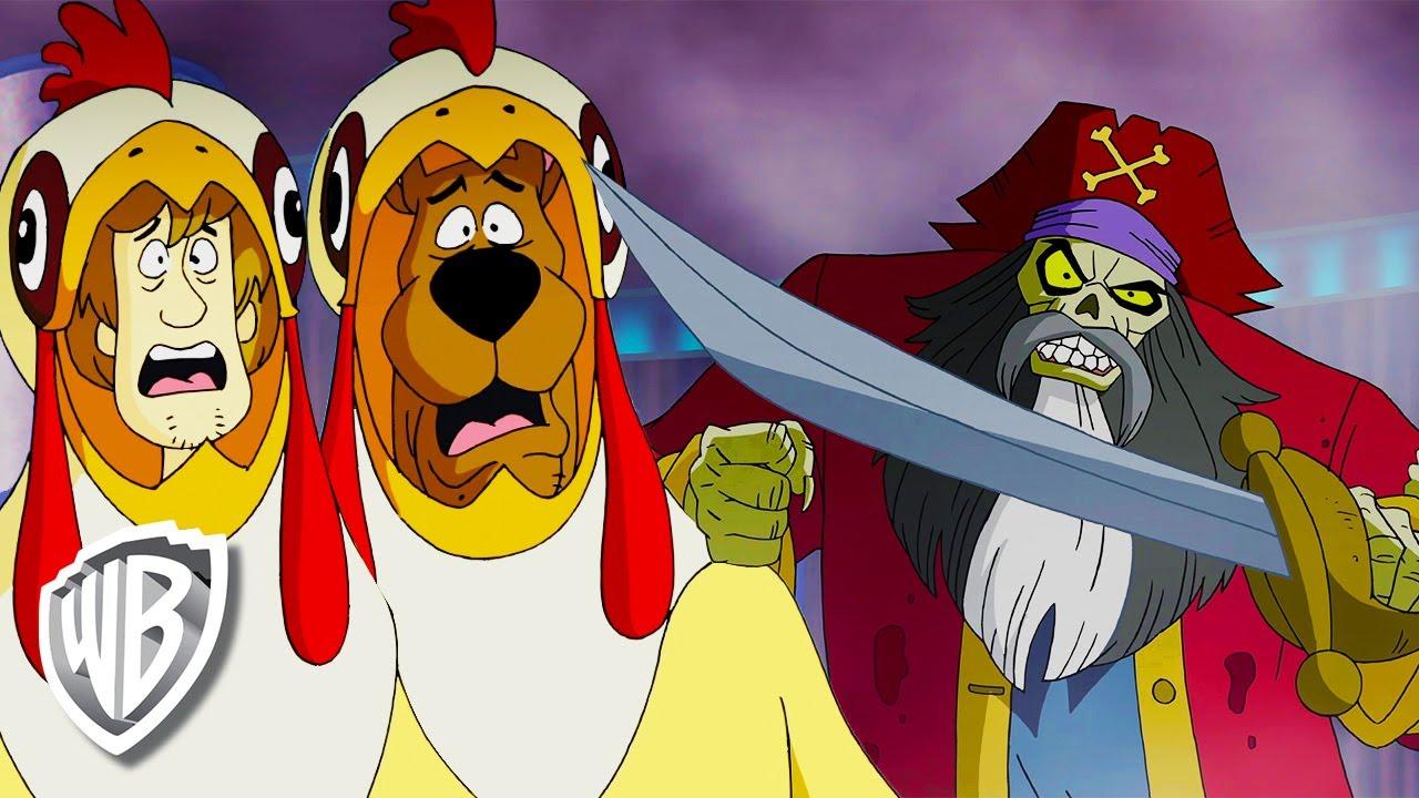 Scooby Doo Em Portugues Brasil Piratas Fantasma Penetras Wb