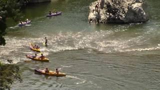 Ardèche - Embouchure du Rieusset
