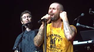 "Maroon 5 ""Maps ~ This Love ~ Sunday Morning"" 2.9.15 Yokohama Arena, Tokyo, World Tour in Japan"