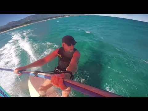 Windsurfer One Design 2016 sailing in Corsica