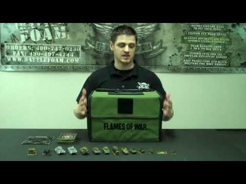 Flames Of War Army Kit Bag Review By Battle Foam Youtube Unfollow battlefoam flames of war to stop getting updates on your ebay feed. flames of war army kit bag review by