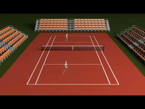 Tennis Motion Capture - Xsens