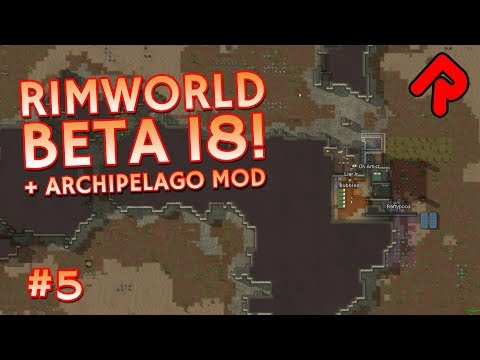 Giant Caribou Herd Migration! | Let's play RimWorld beta 18 gameplay ep 5