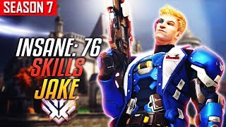 (Huston Outlaws) JAKE - Godly Aim (Soldier 76) [S7 TOP 500]