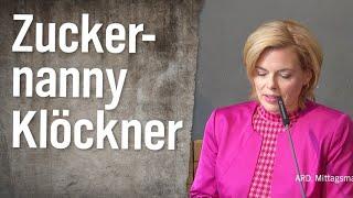 Julia Klöckner – die Zuckernanny