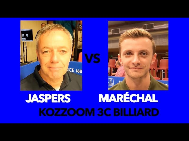 Billard challenge cup Billiard - CHALLENGE CUP 3C Kozoom Le match Jaspers vs Maréchal - Cap Ferret