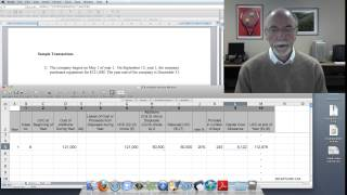 Capital Cost Allowance Calculation  #1