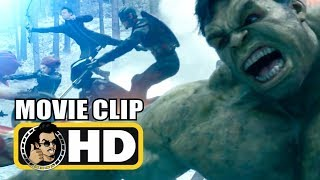 AVENGERS: AGE OF ULTRON (2015) Movie Clip - Opening Hydra Fight Scene |FULL HD| Marvel Studios