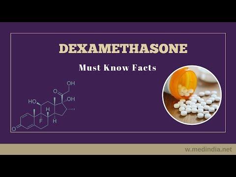 Dexamethasone: Steroid Drug to Treat Allergies, Rheumatic and Skin Diseases