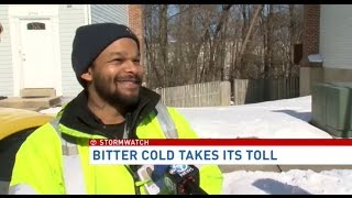 AAA Mid Atlantic- Interview Channel 7- THE BITTER COLD TAKES ITS TOLL!