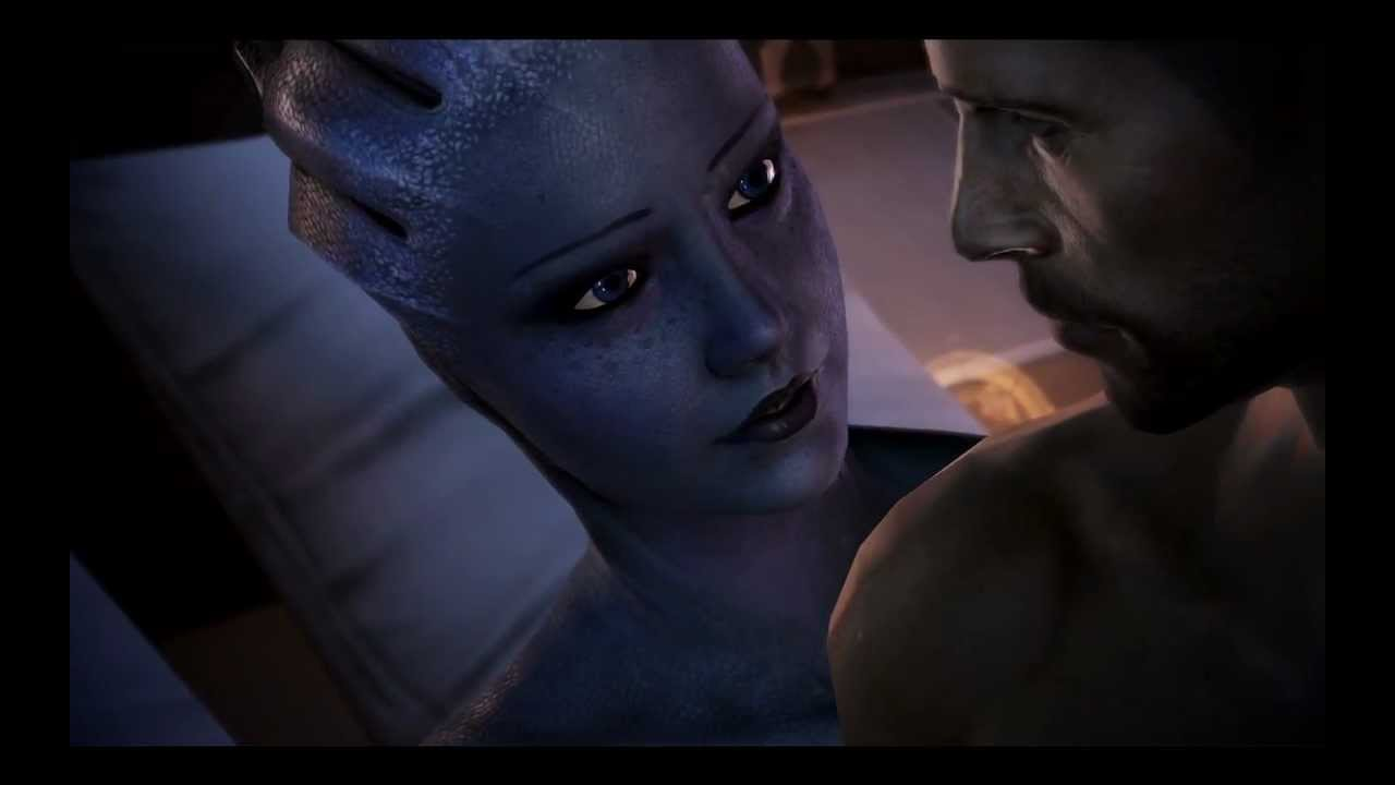 Mass Effect 3 - Romance avec Liara - YouTube