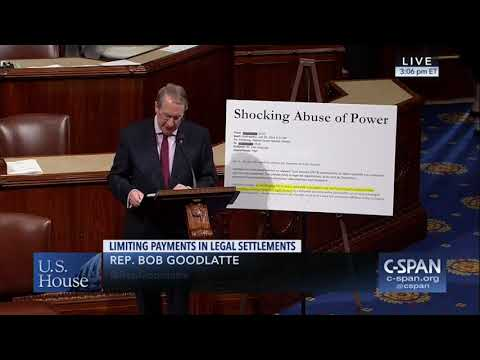 Rep. Goodlatte Reveals Corruption in Obama's Department of Justice