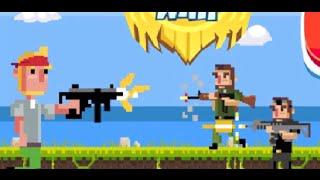 Безумная пиксельная война  Мультфильм игра // Frenzy Pixel War game.