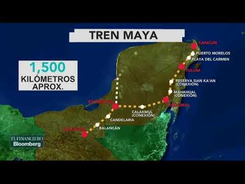 AMLO anuncia que el proyecto de el 'Tren Maya' será más extenso