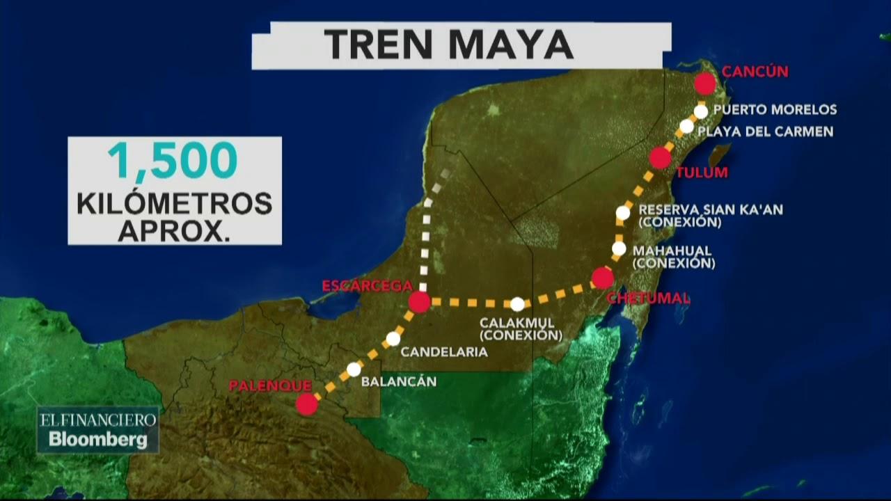 AMLO anuncia que el proyecto de el 'Tren Maya' será más
