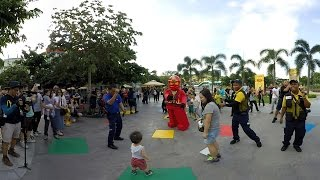Legoland Ninjago kickstart dance CNY 2016