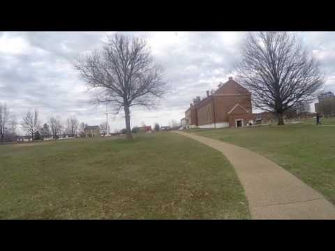 Walking around the Fort Smith National Historic Site