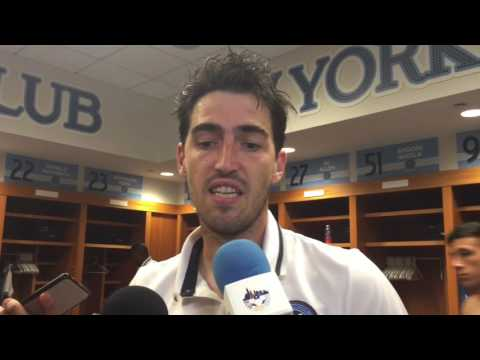 Andoni Iraola Post Match Interview - NYCFC v Chicago 9/23/16