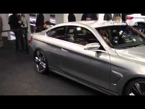 BMW 4-Series Concept Car at Detroit Auto Show