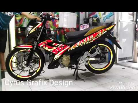 M Reflective Decals By Cyrus Grafix YouTube - Mio decalscyrus grafix decals youtube