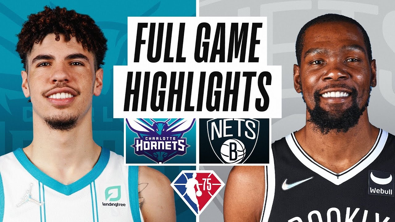 Hornets off to 1st 3-0 start after win at Brooklyn