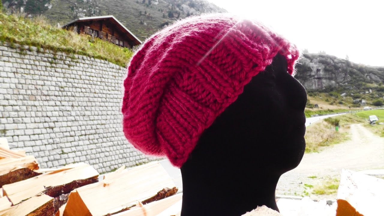 Long Beanie Strickanleitung Woolpedia Youtube