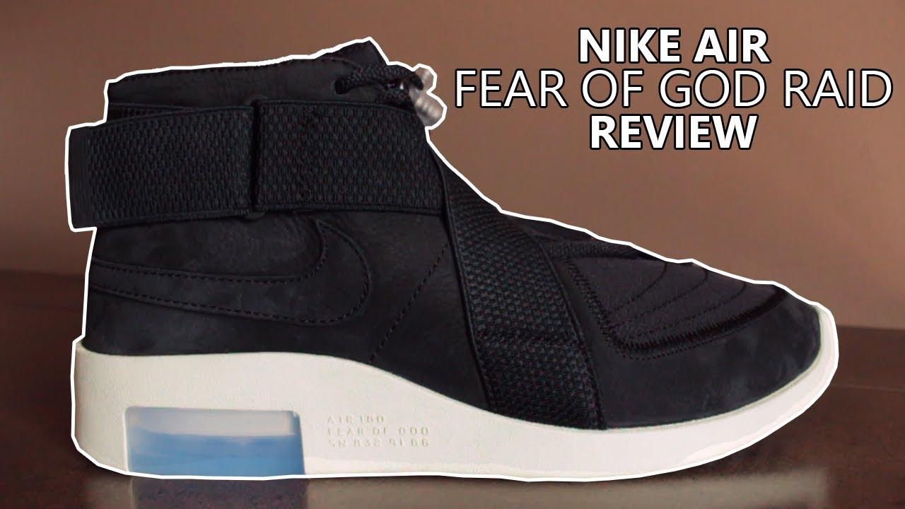 Nike Air Fear of God Raid 'Black