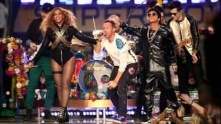 Super Bowl 50 Half Time Show   Coldplay, Bruno Mars & Beyoncé    Panthers vs Broncos 2016 HD