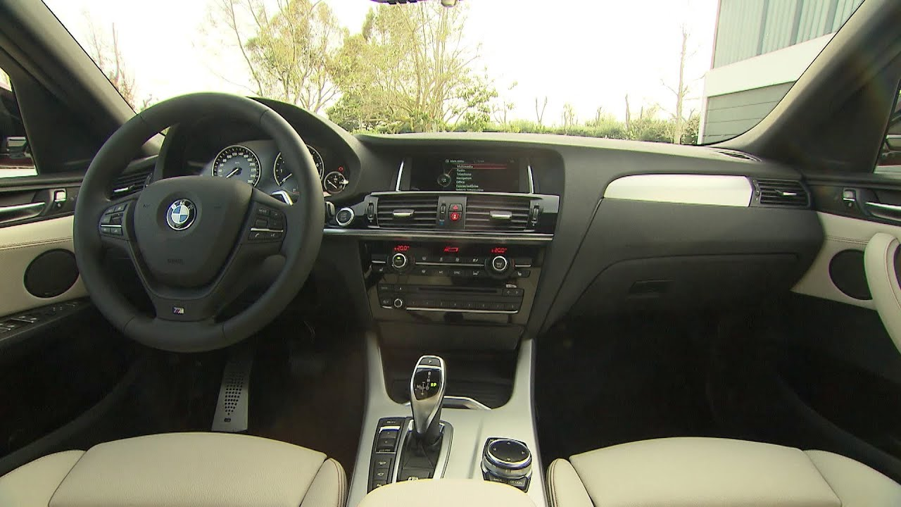 2015 bmw x4 interior youtube for Interieur x4