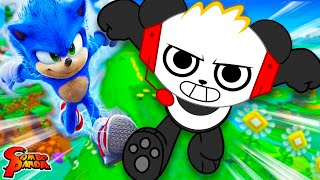 DEFEATING BOSS IN SONIC! Let's Play Sonic Lost World with Combo Panda