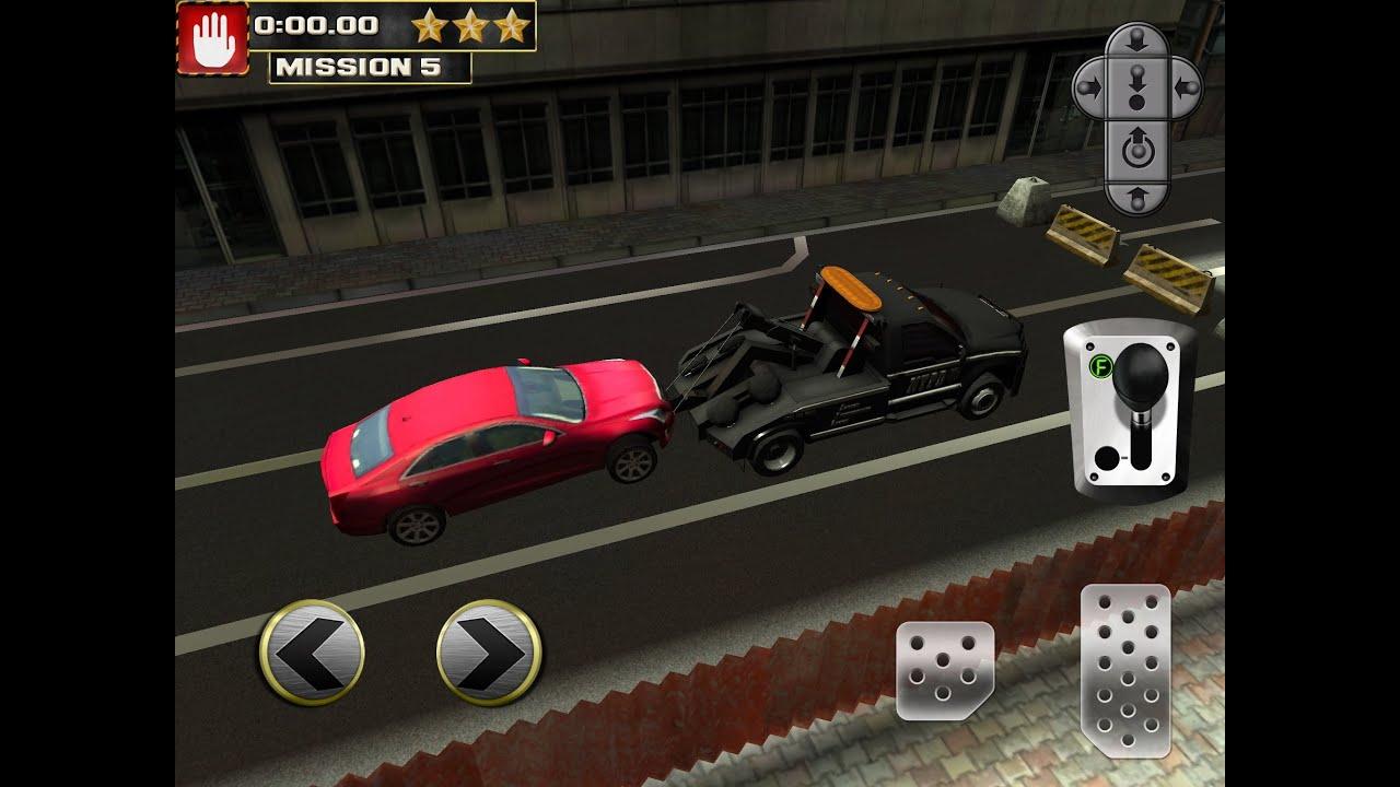 Car Transport Truck Parking Simulator iPhone/iPad GamePlay - YouTube