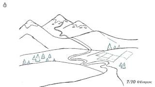Как поэтапно нарисовать горный пейзаж: инструкция от EvriKak(Предлагаем нашу пошаговую инструкцию как рисовать карандашом дорогу в горах. Фото и текстовая инструкция:..., 2015-11-23T08:25:52.000Z)