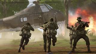 US military convoy was ambushed by Vietnamese forces - ARMA 3 Creator DLC: S.O.G. Prairie Fire