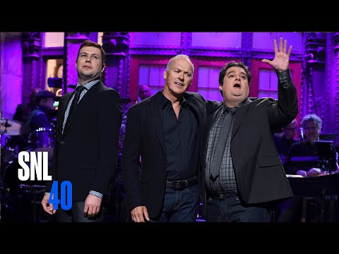 Michael Keaton Tribute Monologue - SNL