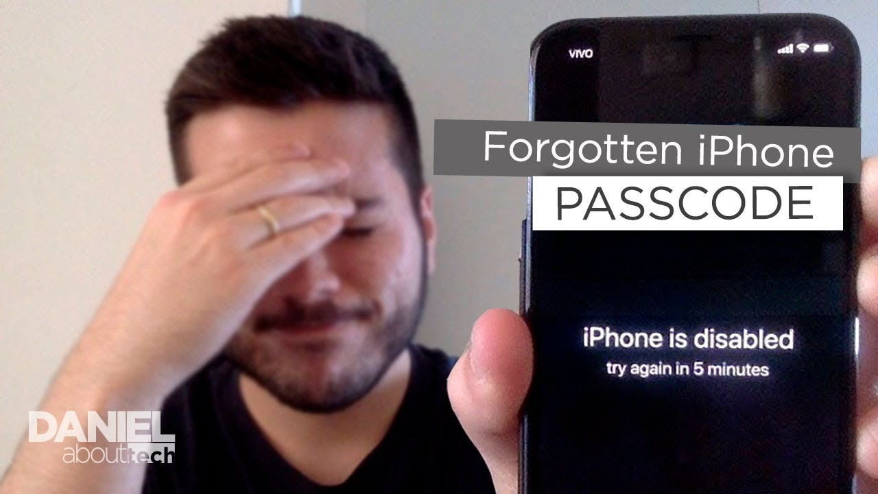 [2018] How to Remove Forgotten Passcode of iPhone - 6/7/8/X