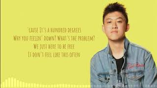Rich Brian - 100 Degrees Lyrics  | Hd Lagu Hits Rap Terbaru | New Realiz