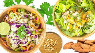 HEALTHY SALAD RECIPES! SUMMER RECIPES THAT ARE HEALTHY!