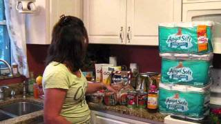 Buying Healthy Food with Coupons-Shopping at Staples, Target and Publix in One Day 1-24-12