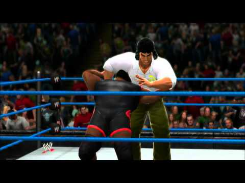 Stelio Kontos (From American Dad) in WWE 13