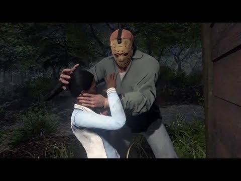 CAMPING WITH A KILLER!  Friday The 13th: The Game