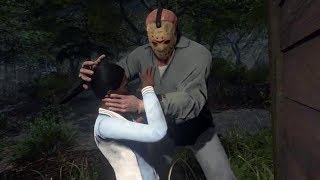 CAMPING WITH A KILLER! | Friday The 13th: The Game