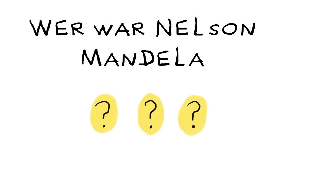 nelson mandelas leben kindgerecht erklrt - Nelson Mandela Lebenslauf