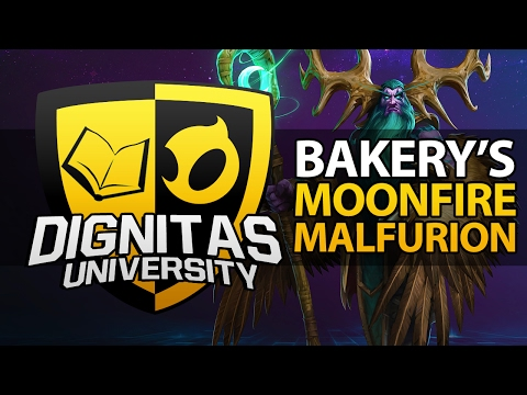 DIG University | Bakery's Malfurion Moonfire Build [Heroes Guide]