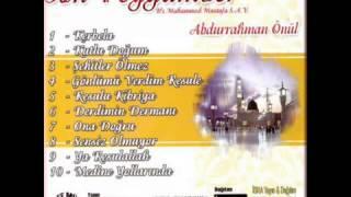 Abdurrahman Önül - Derdimin Dermanı