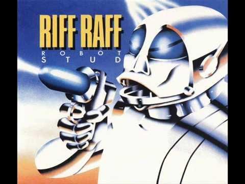 RIFF RAFF  Robot Stud (Fin) 1982