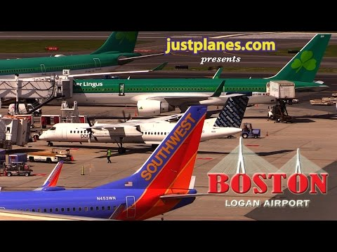 BOSTON AIRPORT by justplanes.com
